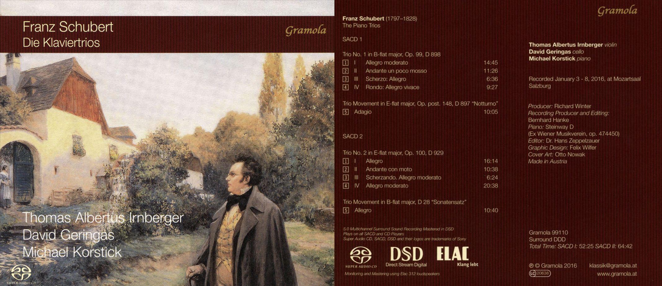 Gramola | Franz Schubert: Die Klaviertrios