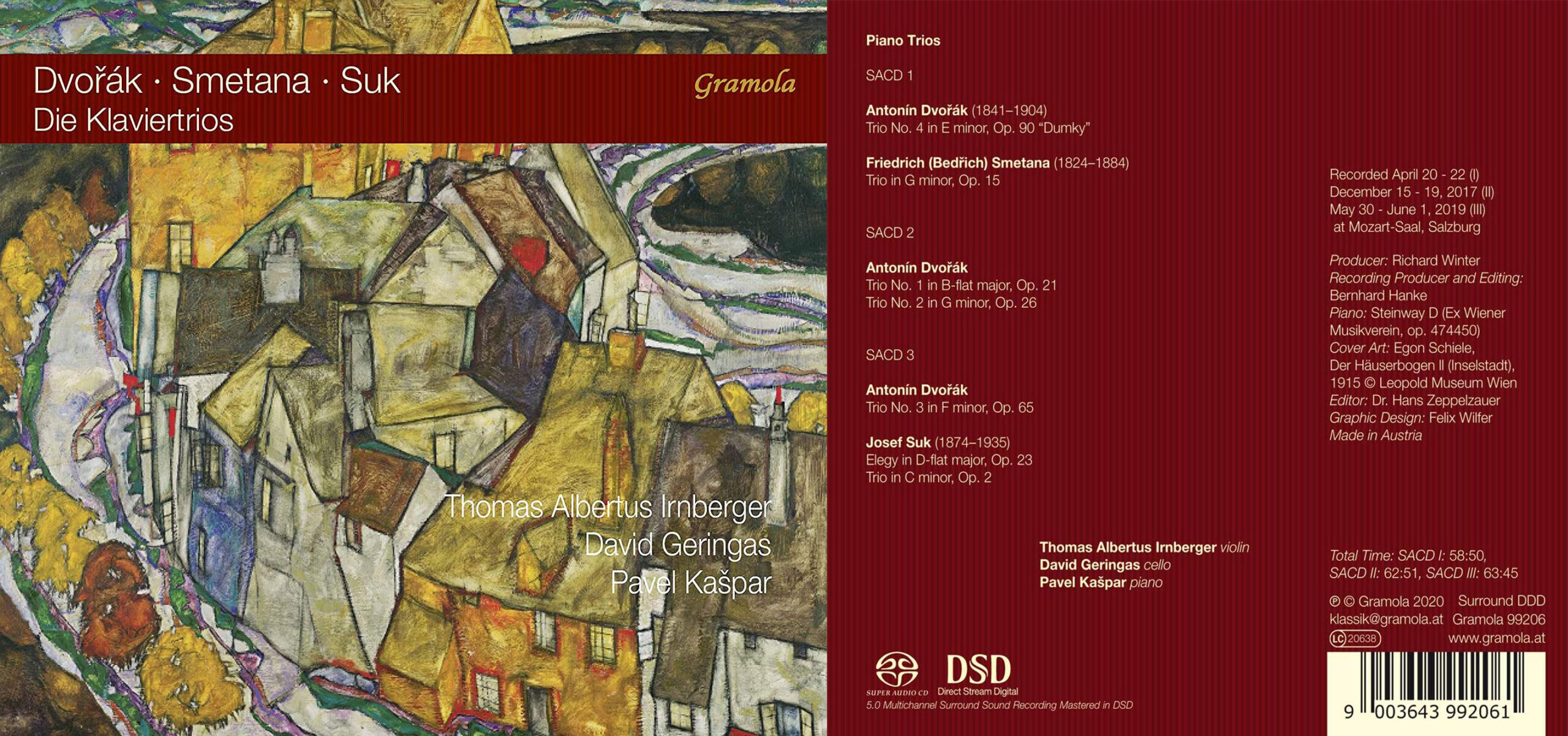 MusicWeb International | Dvořák, Smetana & Suk: Piano Trios