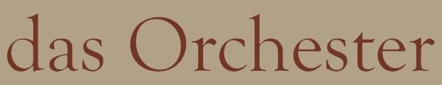 das Orchester | David's Song