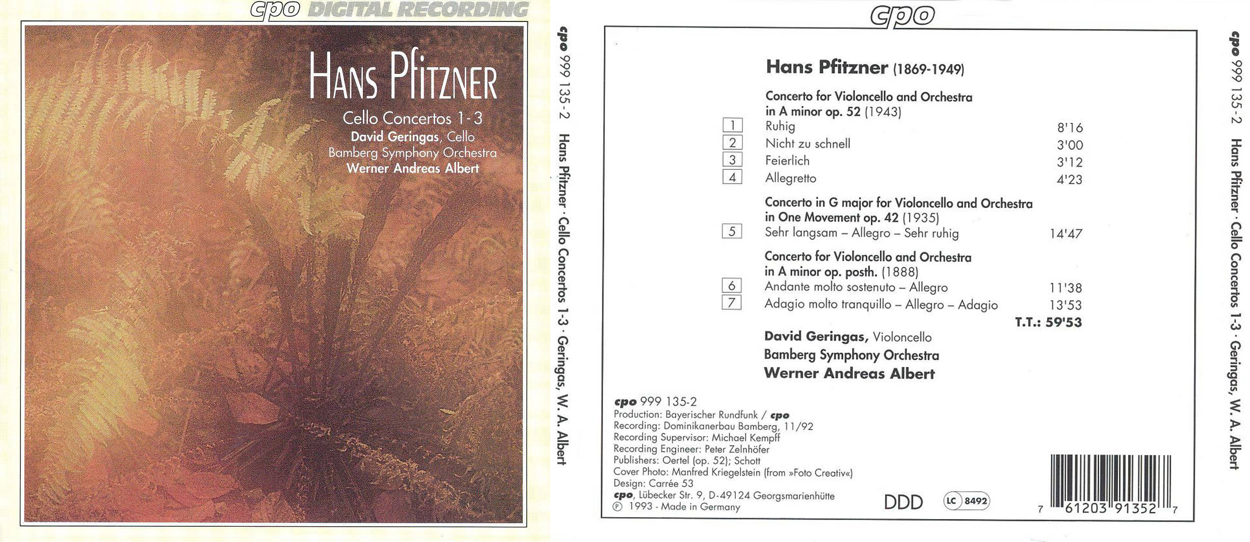 Classical Net   Hans Pfitzner