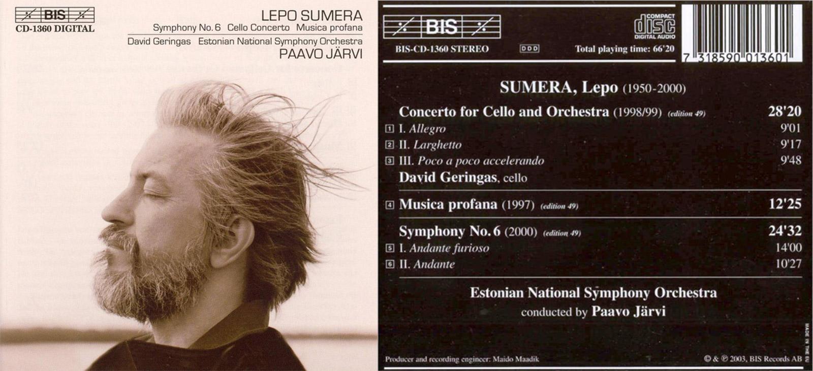 JPC | Lepo Sumera: Symphonie Nr.6
